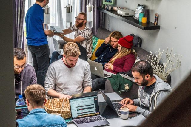 Un groupe de travail qui travail en bonne intelligence est plus important que tout chez THP